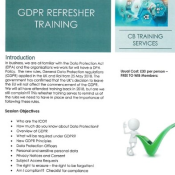 Free GDPR Refresher Training for WIB Members