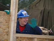 CEO of WIB Volunteers for Habitat in Romania